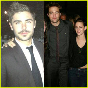 Zac Efron, Kristen Stewart &#038; Robert Pattinson: Pal's Wedding!