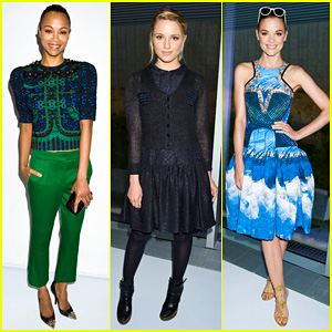Zoe Saldana & Dianna Agron: Persol Magnificent Obsessions!