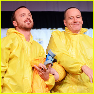 Aaron Paul &#038; Bryan Cranston: 'Breaking Bad' at Comic-Con!