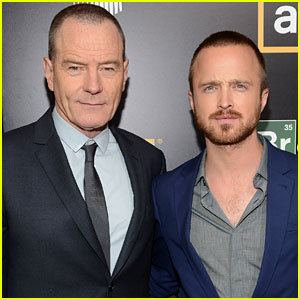 Aaron Paul & Bryan Cranston: 'Breaking Bad' Premiere!