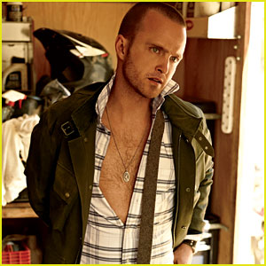 Aaron Paul: 'GQ' August Feature!