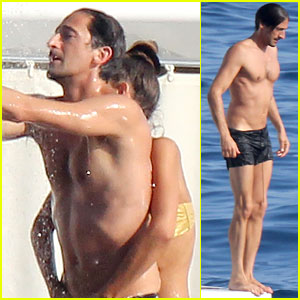 Adrien Brody: Shirtless Yac