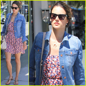 Alessandra Ambrosio: Brentwood Gardens Bombshell!