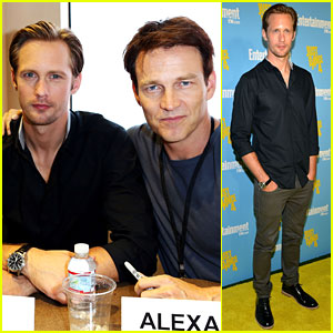 Alexander Skarsgard & Stephen Moyer: 'True Blood' at Comic-Con!