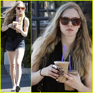 Amanda Seyfried: Coffee Bean Cutie