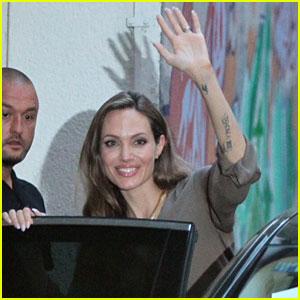 Angelina Jolie Heads to Sarajevo Film Festival!