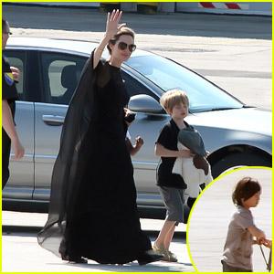 Angelina Jolie: Sarajevo Arrival!