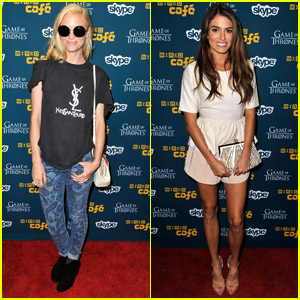 Jaime King & Nikki Reed: Wired Cafe at Comic-Con!