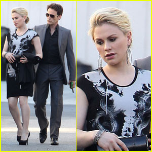 Anna Paquin & Stephen Moyer: 'Margaret' Viewing at LACMA