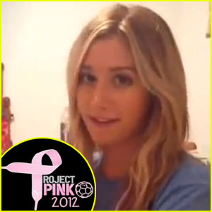Ashley Tisdale: Puma's Project Pink Supporter - Exclusive!