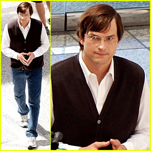 Aston Kutcher como Jobs