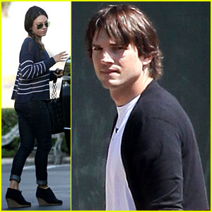 Ashton Kutcher & Mila Kunis: 'Dark Knight Rises' Movie Date!