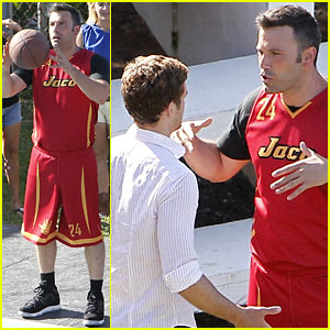 Ben Affleck: 'Runner, Runner' Basketball!