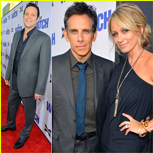 Ben Stiller & Vince Vaughn: 'The Watch' Premiere!