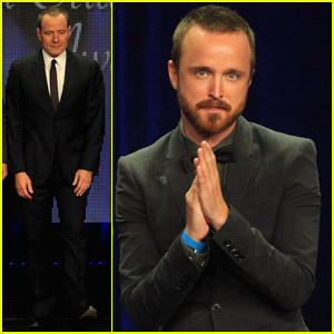 Bryan Cranston & Aaron Paul: 'Breaking Bad' at TCAs!