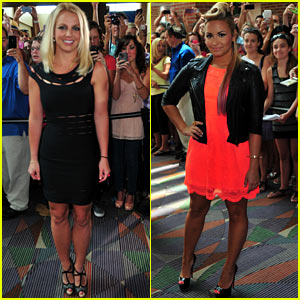 Britney Spears &#038; Demi Lovato: 'X Factor' Greensboro Auditions!