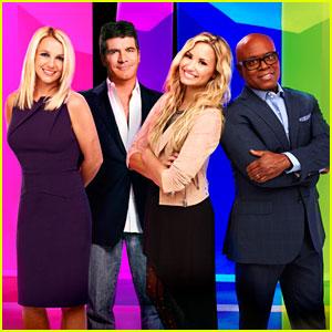 Britney Spears & Demi Lovato: 'X Factor' Promo Pics!