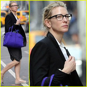 Cate Blanchett: Shopping Before 'Uncle Vanya'