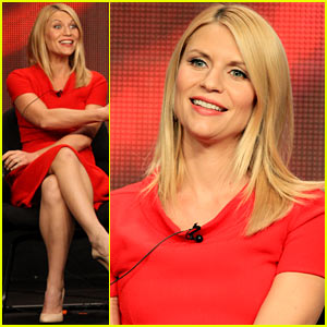 Claire Danes: 'Homeland' TCA Panel!