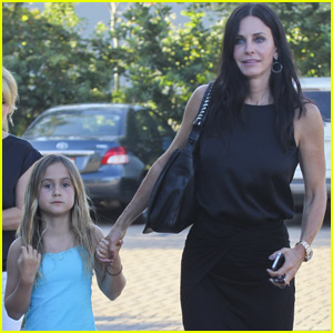Courteney Cox & Coco: Cafe Habana Malibu!