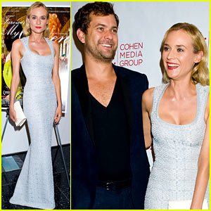 Diane Kruger: 'Farewell, My Queen' Screening with Joshua Jackson!