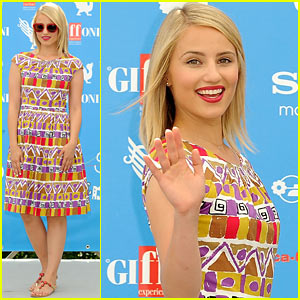 Dianna Agron: Giffoni Film Festival Photo Call!