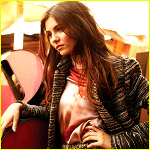 Drew Barrymore Photographs Victoria Justice for 'V'