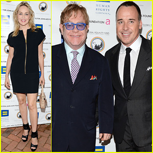Elton John & David Furnish: Human Rights Campaign Honoree!