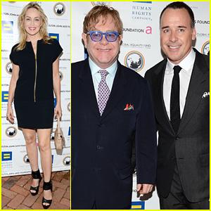 Elton John & David Furnish: Human Rights Campaign Honoree!