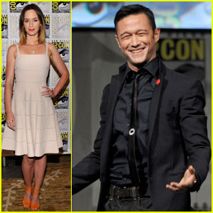 Joseph Gordon-Levitt: 'Looper' Comic-Con Panel with Emily Blunt