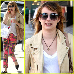 Emma Roberts: I Want to Rent 'Romy and Michele'!