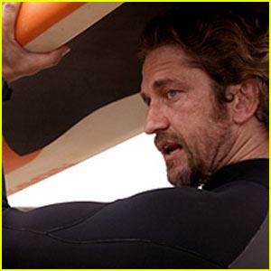 Gerard Butler: 'Chasing Mavericks' Trailer!