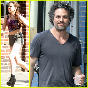 Hailee Steinfeld &#038; Mark Ruffalo: 'Song' Set