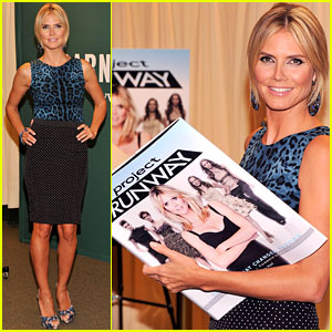 Heidi Klum: 'Project Runway' Book Signing!