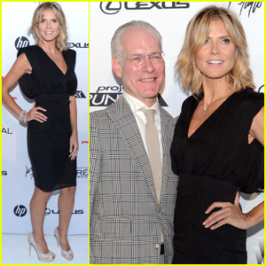 Heidi Klum & Tim Gunn: 'Project Runway' Kicks Off Thursday!