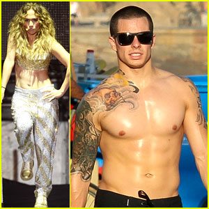 Jennifer Lopez & Casper Smart: Ab-tastic in Brazil!