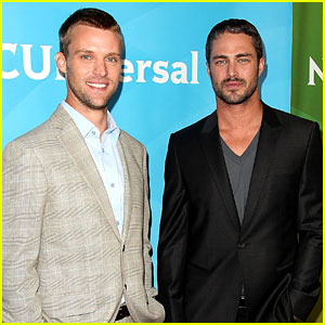 Jesse Spencer &#038; Taylor Kinney: NBC Universal Press Tour!