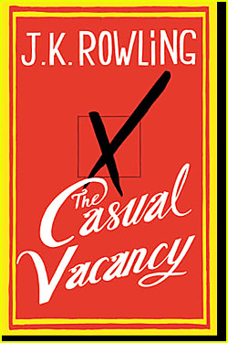 J.K. Rowling's 'Casual Vacancy' Book Cover Revealed!
