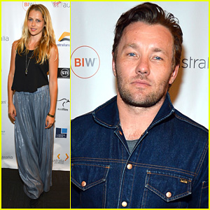 Joel Edgerton & Teresa Palmer: 'Wish You Were Here' Screening!