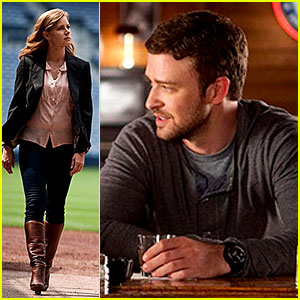 Justin Timberlake & Amy Adams: 'Trouble With The Curve' First Look!