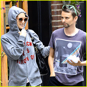 Kate Hudson & Matthew Bellamy: NYC Stroll