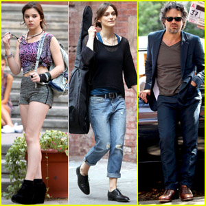 Keira Knightley &#038; Mark Ruffalo: 'Song' Set!