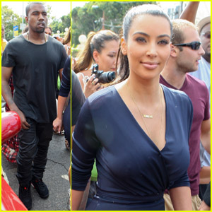Kanye West & Kim Kardashian Celebrate New Dash Store!