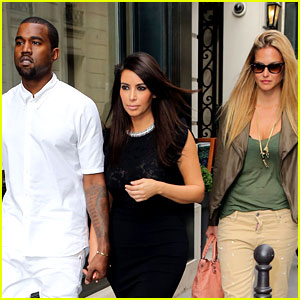 Kim Kardashian &#038; Kanye West: Fashion Fun with Bar Refaeli!