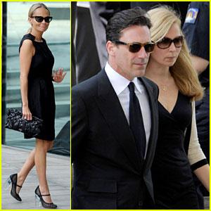 Kristin Chenoweth & Jon Hamm: Nora Ephron's Memorial Service