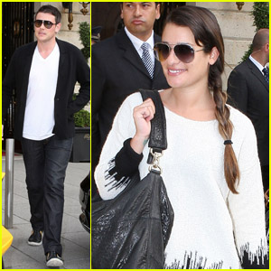 Lea Michele &#038; Cory Monteith: Au Revoir, Paris!