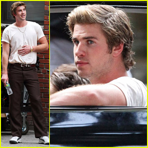 Liam Hemsworth: 'Empire State' Shoot in New York!