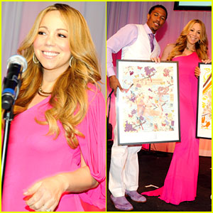 Mariah Carey: Art for Life Gala with Nick Cannon!