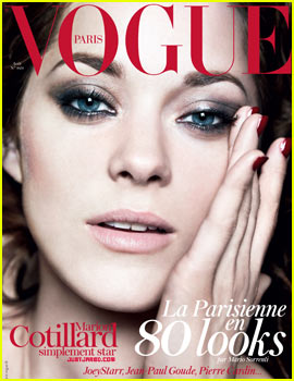 Marion Cotillard Covers 'Vogue Paris' August 2012