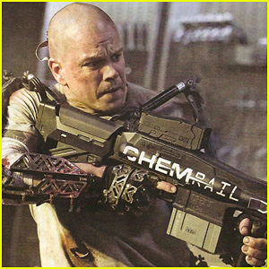 Matt Damon's 'Elysium' - First Look Picture!